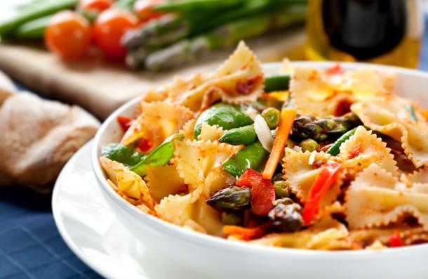фарфалле с лососем в сливочном соусе рецепт