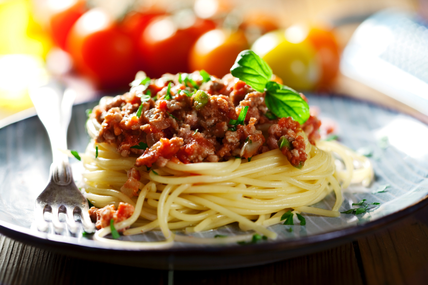 Spaghetti Болоньезе