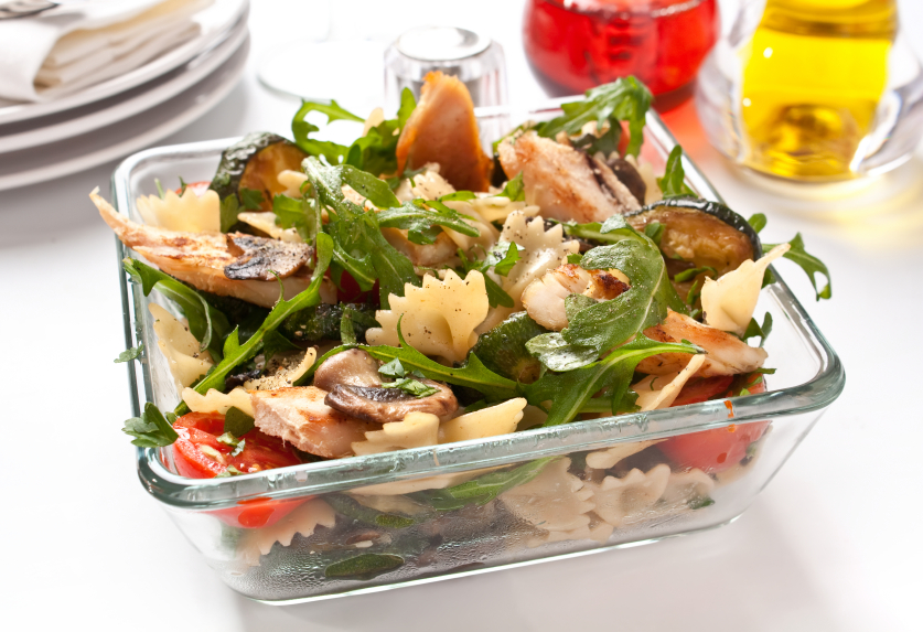 Теплый салат из рукколы и курицы — pic 9