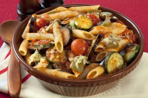 Ratatouille Pasta Bake