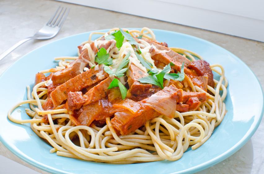 143Спагетти болоньезе с беконом рецепт