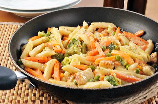 Рецепт итальянской пасты с мясом