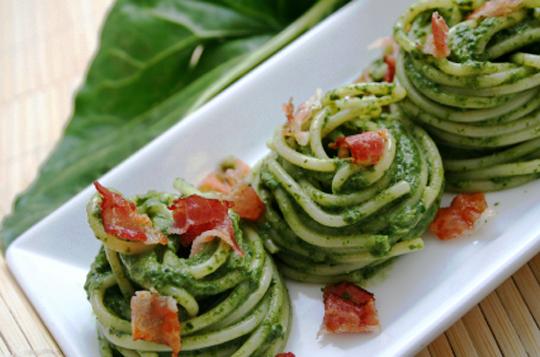 Рецепт соуса к спагетти из шпината