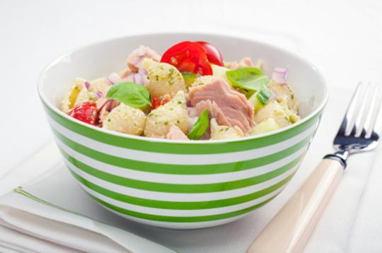 Салат с тунцом и креветками рецепты 107