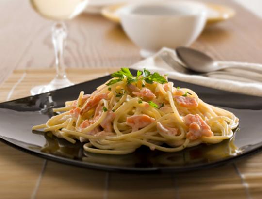 Сливочно чесночный соус для спагетти