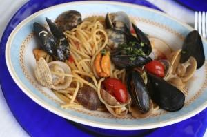 Паста з морепродукти