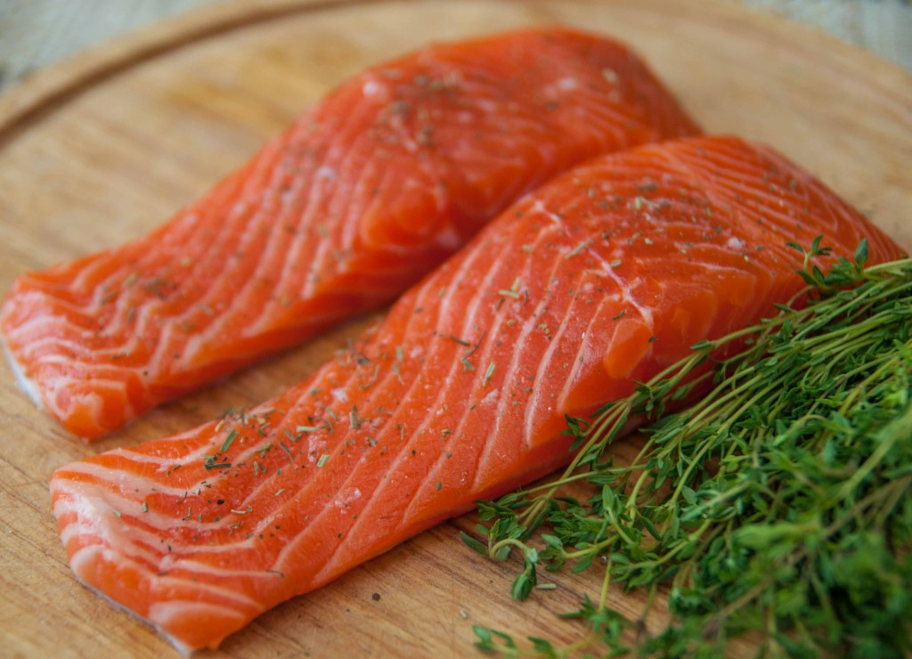 О запрете ввоза крупной партии лосося